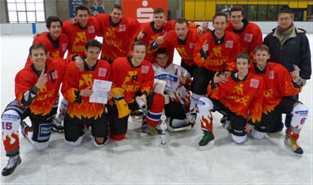 Fichte Gymnasium gewinnt Eishockeyschulmeisterschaften (Foto: Stadt Krefeld)
