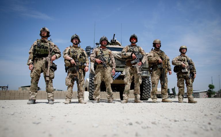 Kölner Gericht verhandelt über Nato-Luftschlag in Kundus (© 2015 AFP)