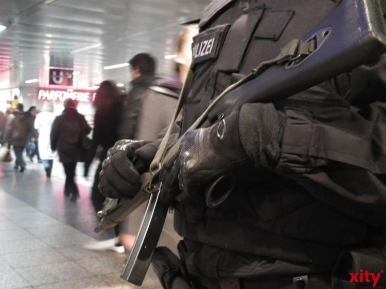 Polizei fühlt sich im Kampf gegen Terror allein gelassen (xity-Foto: M. Völker)