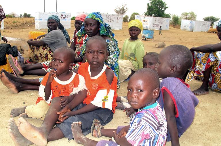 Hilfe für Kamerun bei Bewältigung von Flüchtlingskrise (© 2015 AFP)