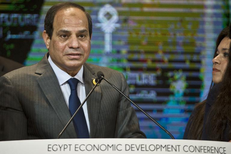 Grüne kritisieren Einladung von Ägyptens Staatschef (© 2015 AFP)