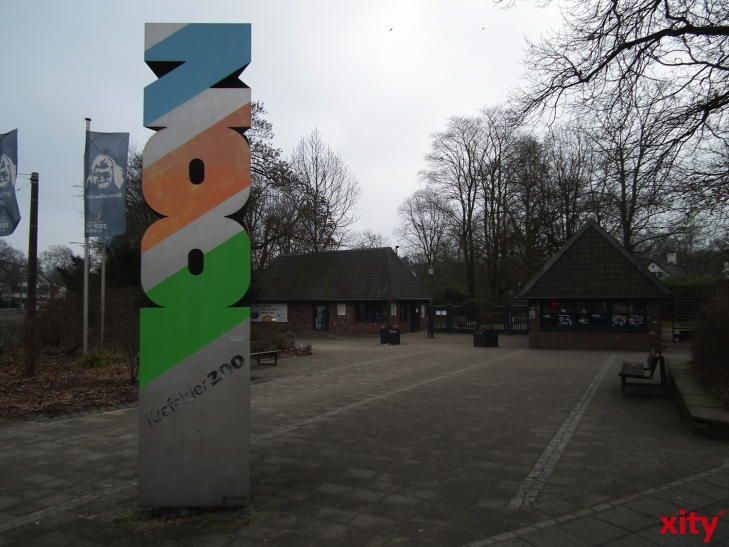 Führung mit Zoodirektor Dr. Wolfgang Dreßen (xity-Foto: E. Aslanidou)