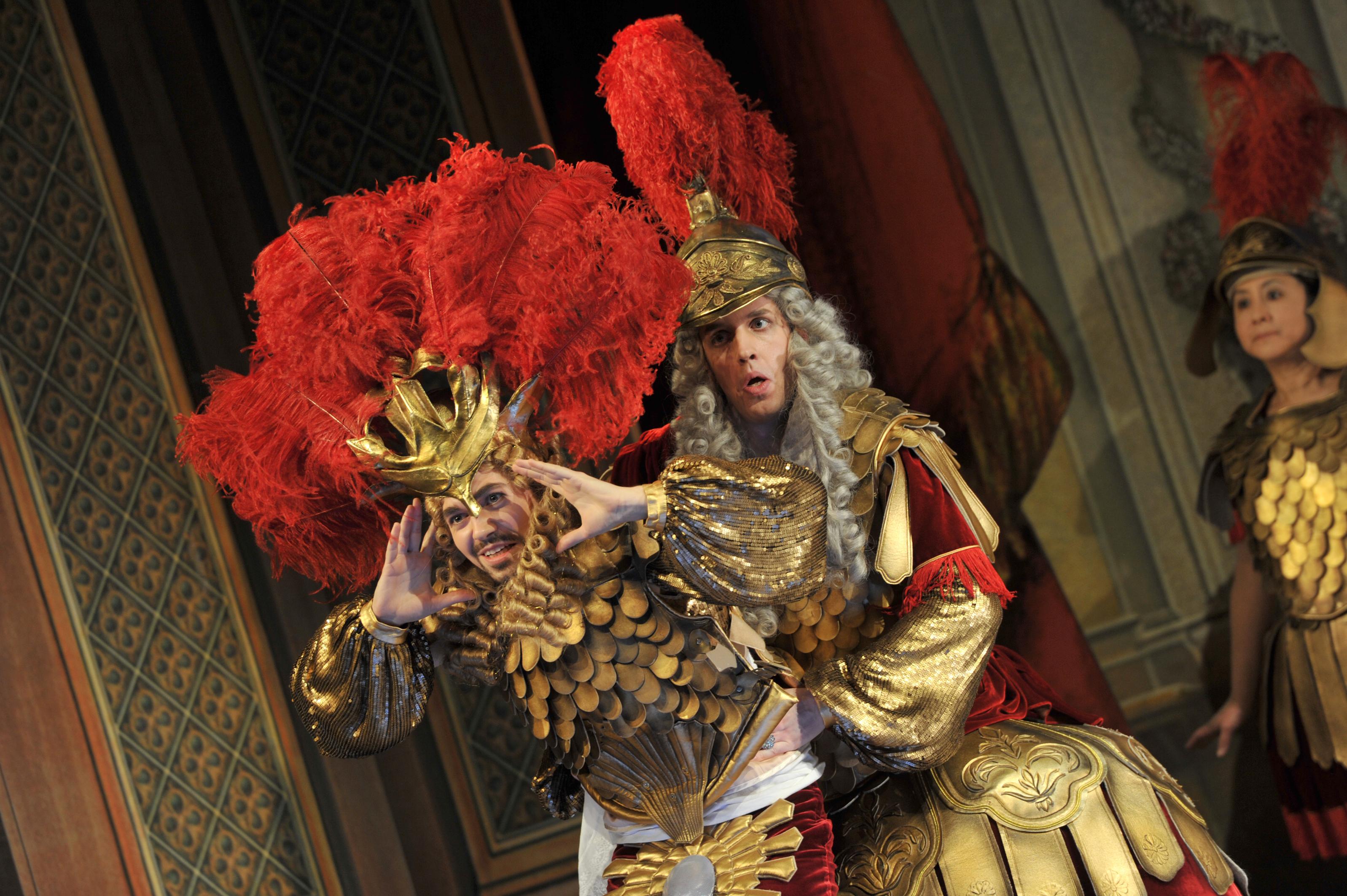 Am 22. April kehrt Xerxes auf die Bühne der Oper am Rhein zurück (Foto: Hans Jörg Michel)