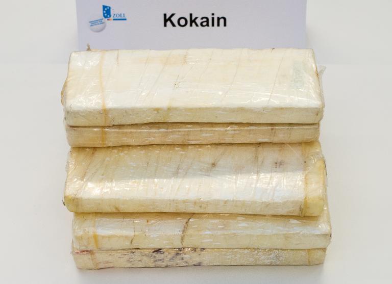300 Kilo Kokain bei Obsthändler im Saarland gefunden (© 2015 AFP)