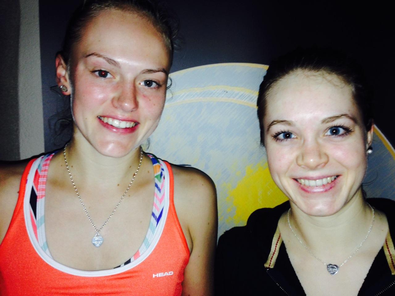 Dana Kremer (l.) und Tanja Klee (Foto: M.A.R.A. Sport-Consulting)