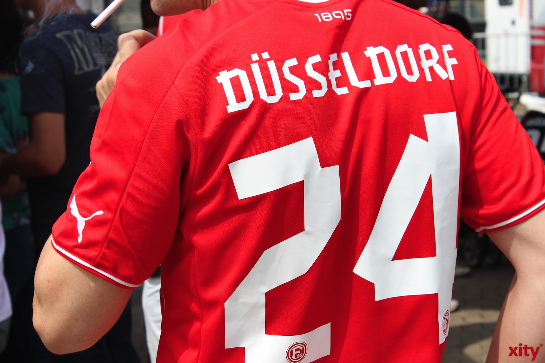 Die Fortuna-Fans reisten nicht mit nach Leipzig (xity-Foto: H.Müller)