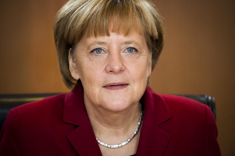 Kinofilm über Angela Merkel geplant (© 2015 AFP)