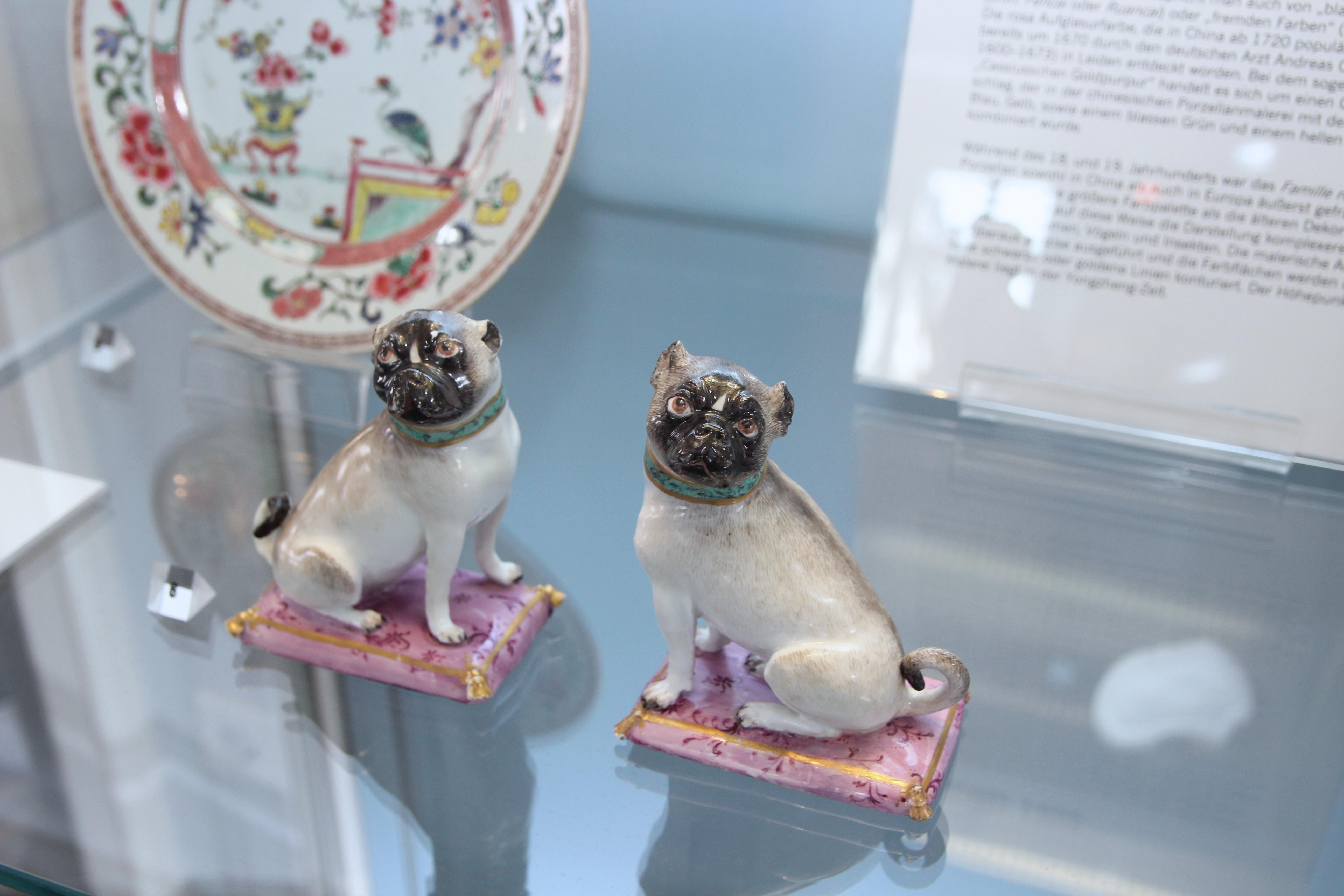 Einige Porzellan Stücke werden erstmalig vorgeführt. (xity-Foto: S. Jacobs)