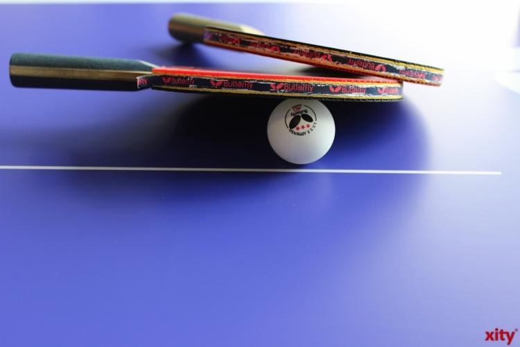 Zum Auftakt der diesjährigen Check!-Testreihe kamen Zweitklässler der KGS Citadellstraße in das Deutsche Tischtennis-Zentrum und absolvierten dort den Übungsparcours (xity-Foto: H. Müller)