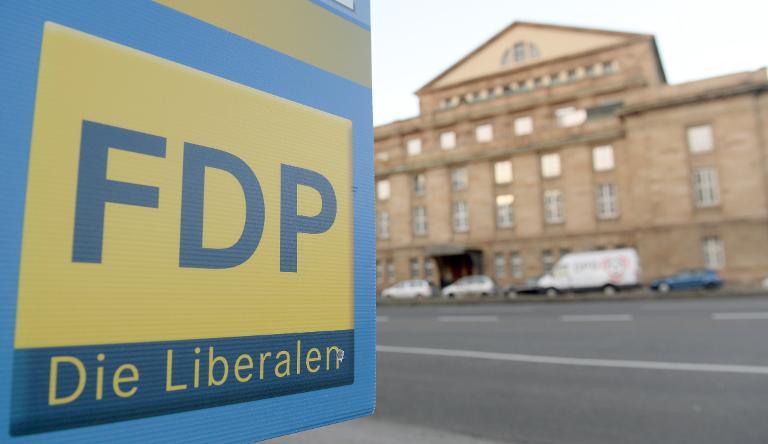 FDP-Mitglieder sollen per Umlage Wahlkämpfe finanzieren (© 2015 AFP)