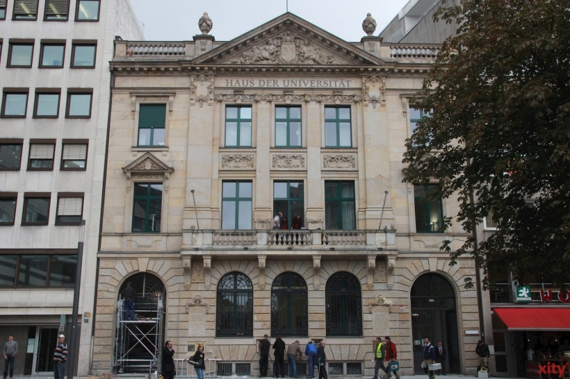 Die Düsseldorfer Ehrenamtsmesse findet auf dem Schadowplatz und im Haus der Universität statt (xity-Foto: D. Postert)