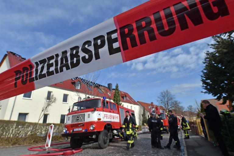 Noch keine heiße Spur zu Brandstiftern von Tröglitz (© 2015 AFP)