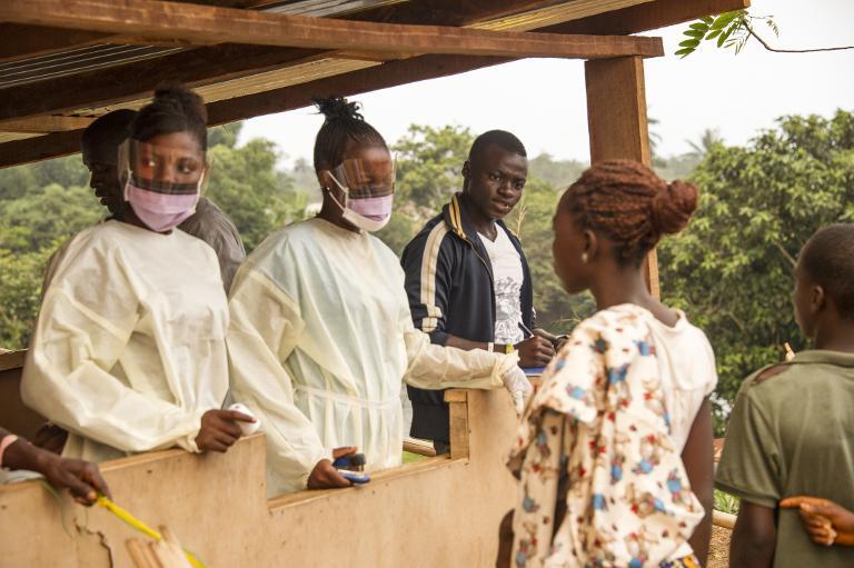 Ärztepräsident Montgomery: Ebola wurde unterschätzt (© 2015 AFP)