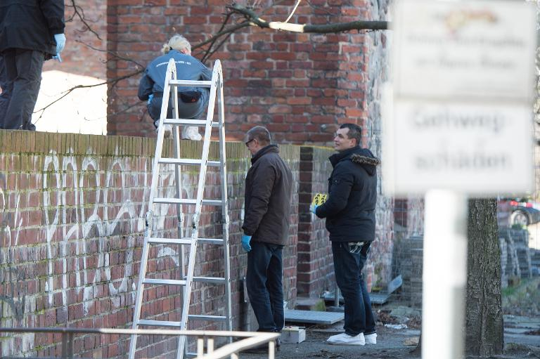 In Berliner Ruine gefundener Toter war wohl Israeli (© 2015 AFP)