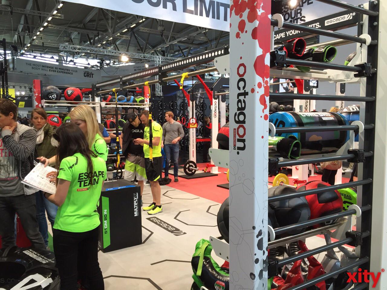 Über 700 Aussteller zeigten die neuesten Fitnesstrends (xity-Foto: D.Creutz)