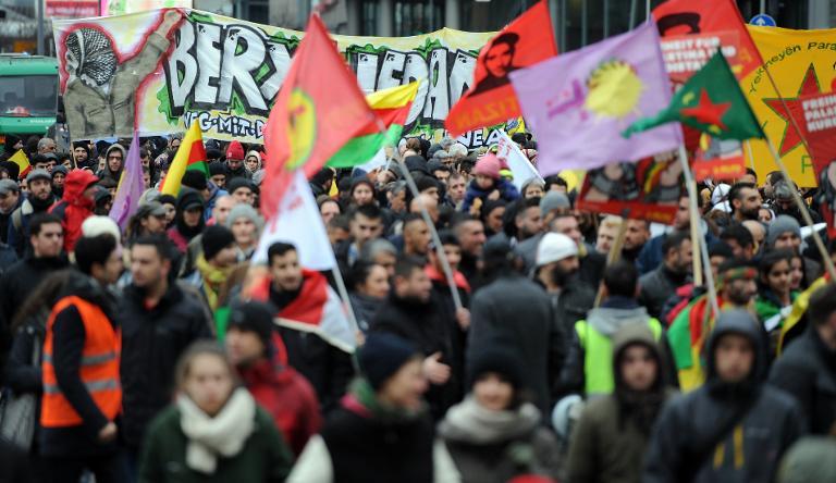 PKK entschuldigt sich für drastische Protestaktionen (© 2015 AFP)