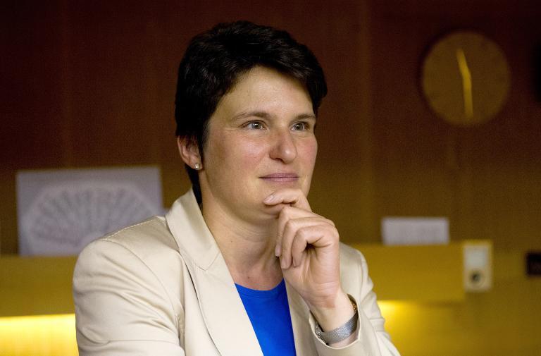 GIZ-Chefin Gönner für weitere drei Jahre bestätigt (© 2015 AFP)
