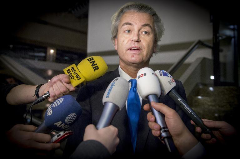 Geert Wilders als Redner bei Pegida-Kundgebung erwartet (© 2015 AFP)