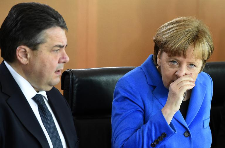 Bundesregierung startet Dialogreihe mit Bürgern (© 2015 AFP)