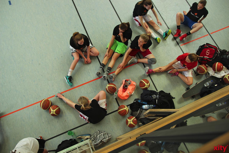 Die Weibliche Nachwuchs-Basketball-Bundesliga (WNBL) ist die höchste deutsche Basketballliga für Spielerinnen im Alter von unter 17 Jahren (U17)(xity-Foto: P. Basarir)