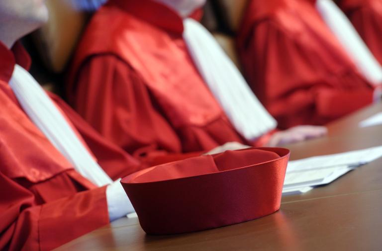 Bundesverfassungsgericht prüft Betreuungsgeld (© 2015 AFP)