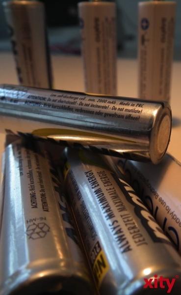 Schadstoffmobil sammelt Batterien und Co. (xity-Foto: M. Völker)
