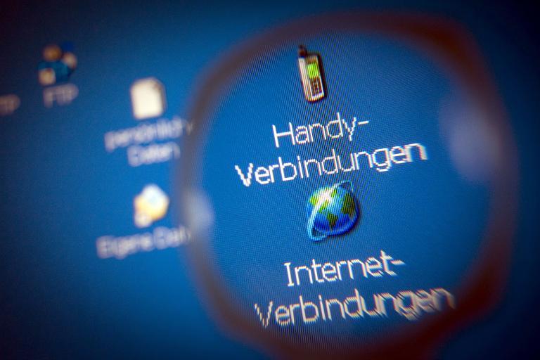 Polizei begrüßt Einführung der Vorratsdatenspeicherung (© 2015 AFP)