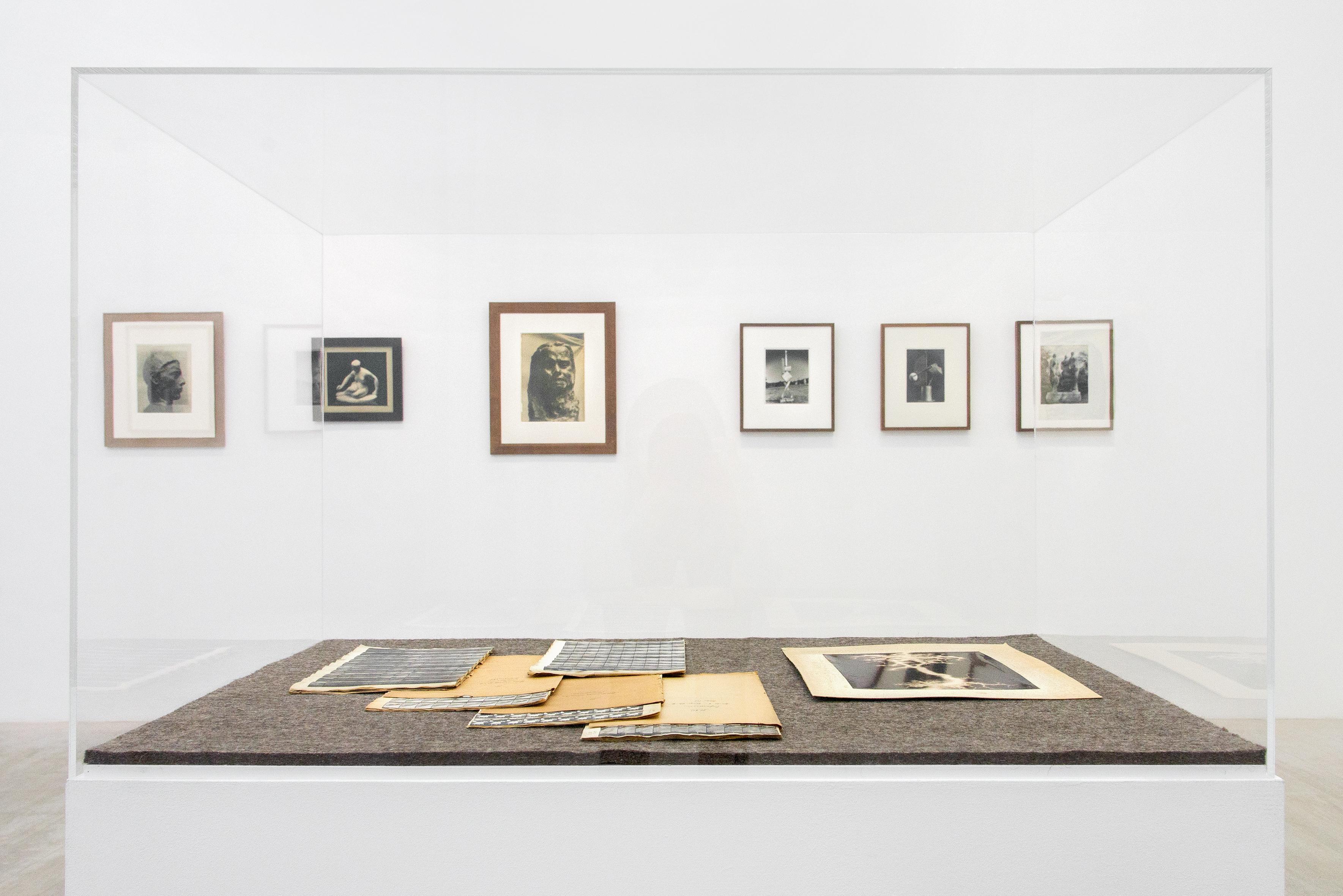 Einblicke in die Sammlung von Didier Vermeiren / Elsa Cayo und Thomas Ruff (Foto: Hye-Mi Kim)
