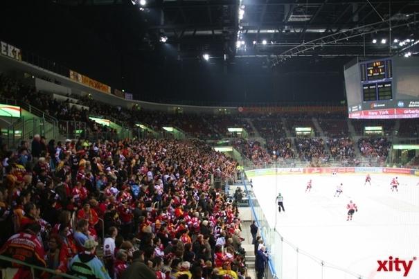 Mit dem Erreichen des Playoff-Halbfinales 2015 hat sich die Düsseldor-fer EG für die Champions Hockey League (CHL) qualifiziert (xity-Foto: M. Völker)