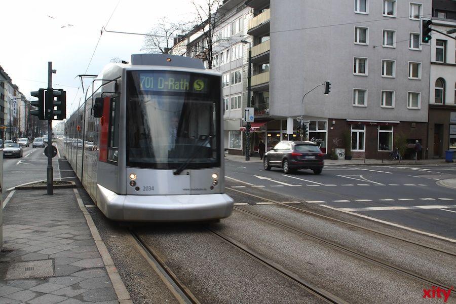 """""""Marathon-Umleitungen"""" bei Bus und Straßenbahn (xity-Foto: D.Mundstock)"""