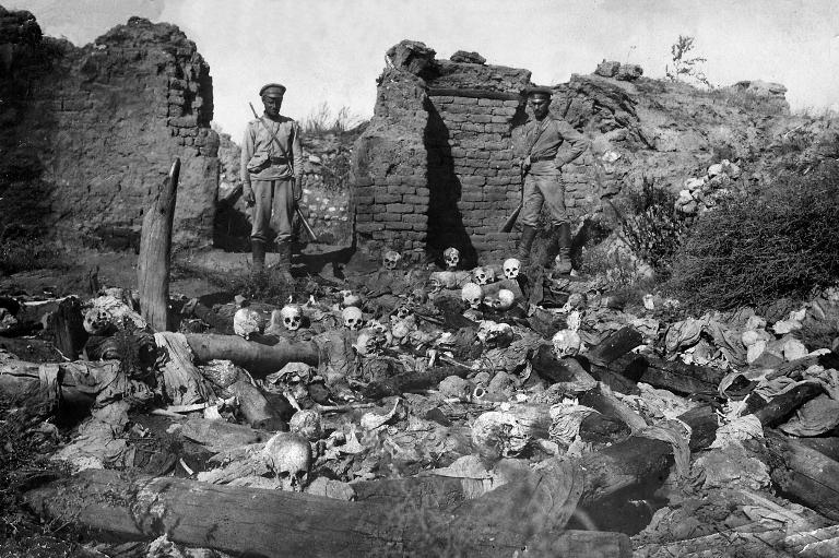 "Berlin meidet Begriff des ""Völkermords"" an Armeniern (© 2015 AFP)"