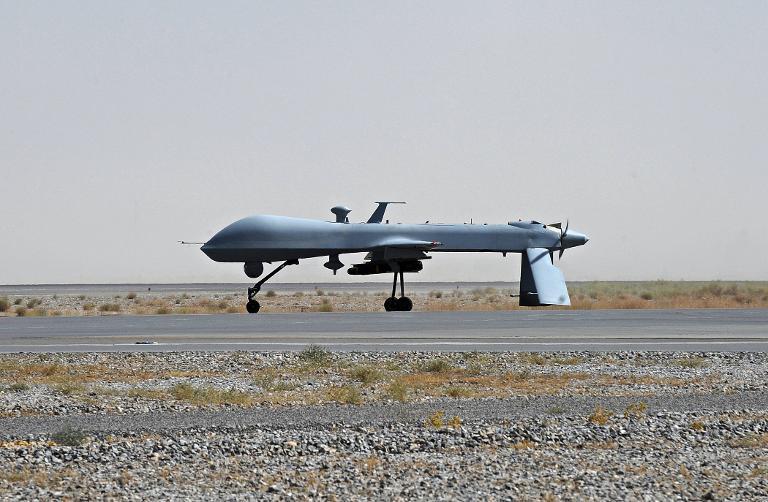 USA steuern Drohnenkrieg offenbar von Ramstein aus (© 2015 AFP)