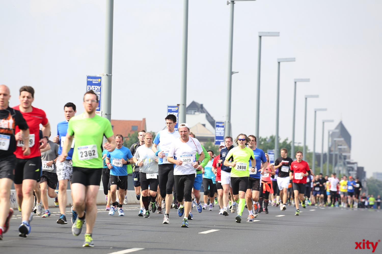 In diesem Jahr nahmen rund 4000 Teilnehmer beim Sparda-Bank Brückenlauf teil (xity-Foto: D. Creutz)