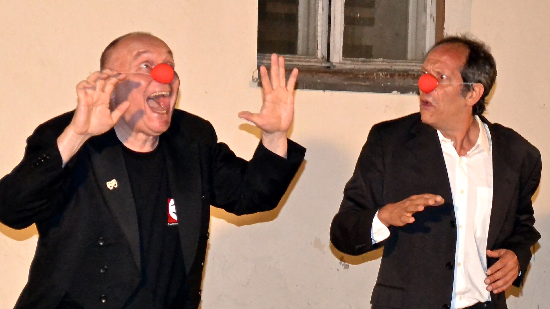 Pantomime Nemo und Yasar Eyüboglu (Foto: HPS Kommunikation)