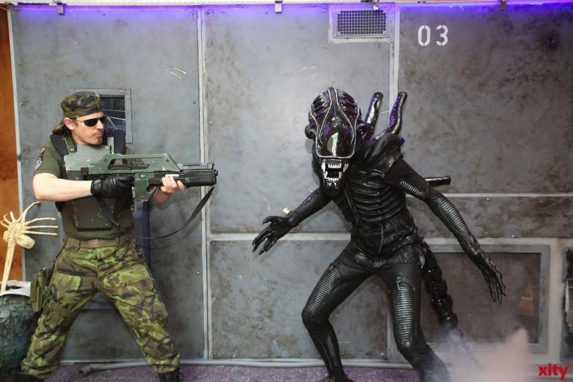 Auch die Aliens dürfen natürlich nicht fehlen (Foto: xity)