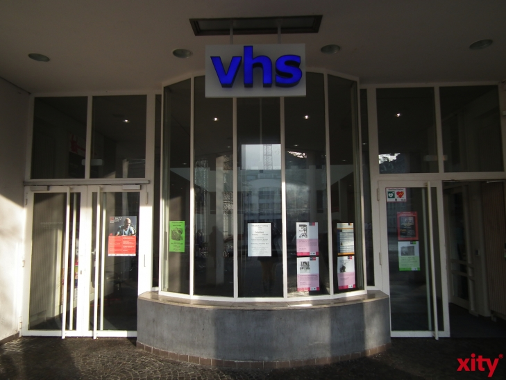 Grundlagentraining für Präsentationen in der VHS Krefeld (Foto: xity)