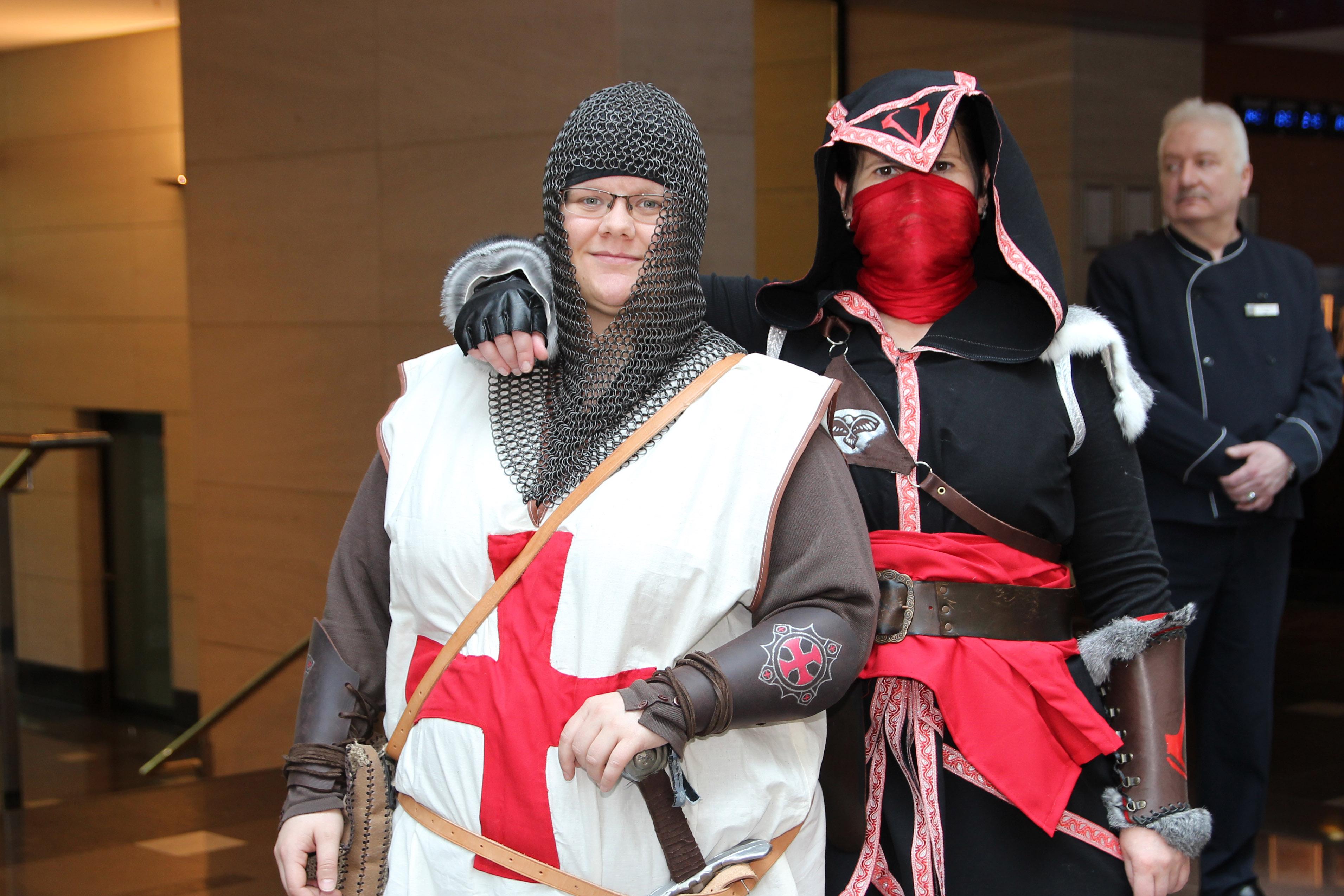 Auf der FedCon werden sogar Templer und Assassinen Freunde (Foto: xity)