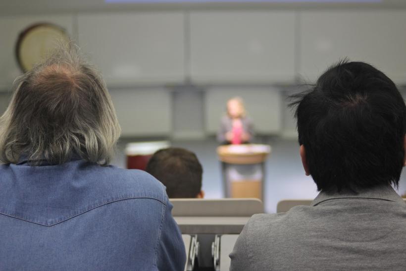 Mehr als die Hälfte der Gasthörer ist mindestens 60 Jahre alt (Foto: xity)