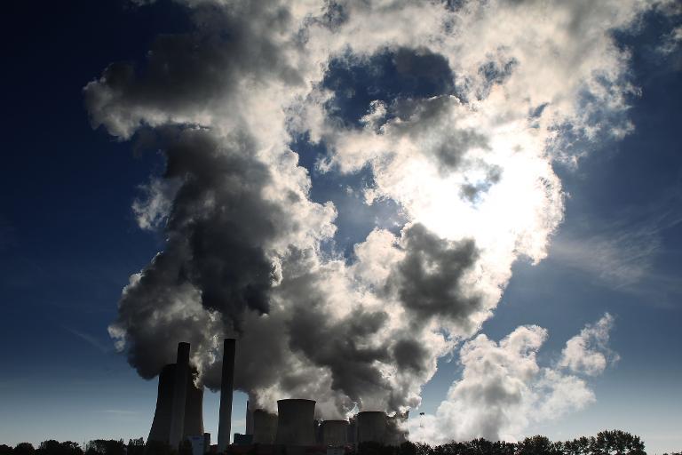 Grüne fordern CO2-Bremse im Grundgesetz (© 2015 AFP)