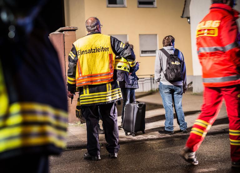 Ein Toter bei Wohnungsbrand in Hessen (© 2015 AFP)