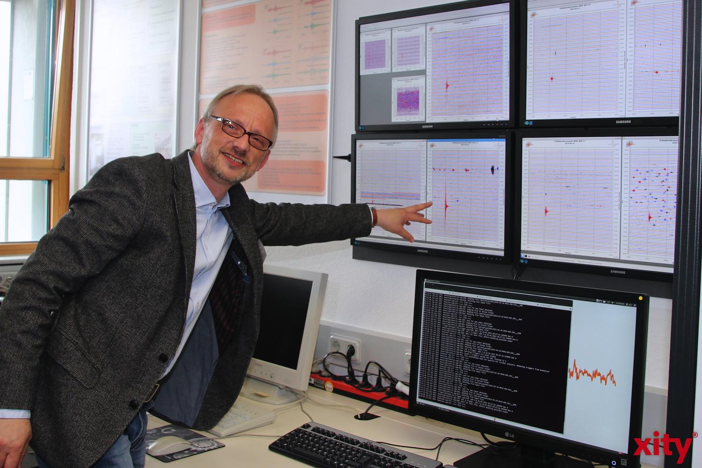 Dr. Klaus Lehrmann erklärte alle Details des modernen Systems (Foto:xity)