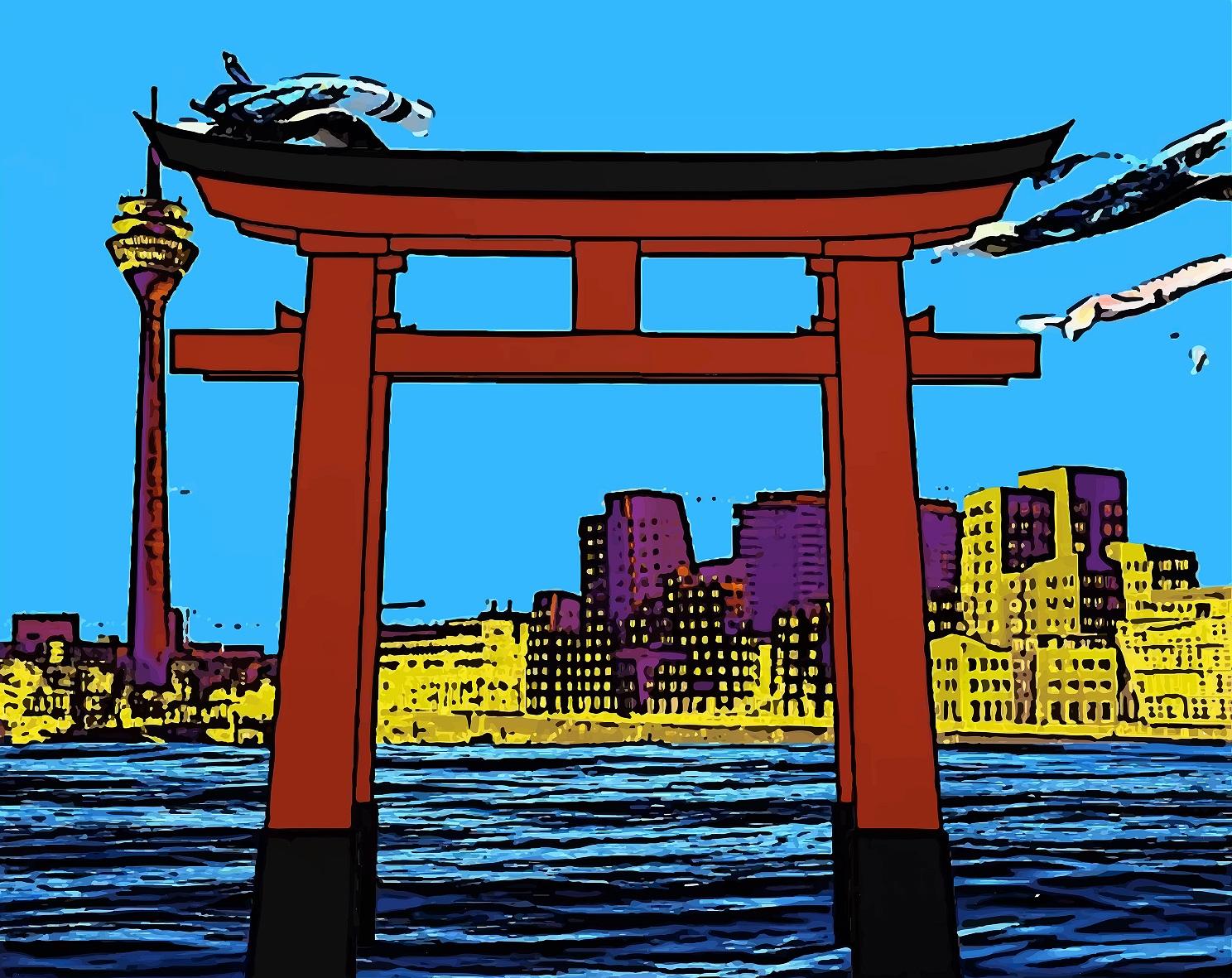 Sakura - Rotes Tor (Foto: Kanjo Také)
