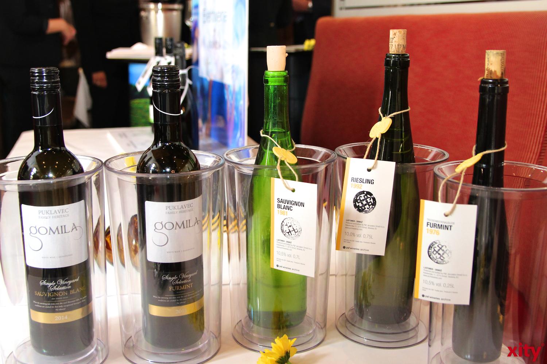 p&f wineries präsentierte seine Weißwein-Raritäten (Foto: xity)