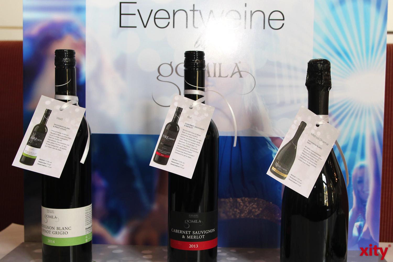Auch drei Eventweine wurden präsentiert (Foto: xity)