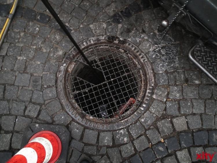 Der Regenwasserkanal ist in Bereichen der Laubachstraße, Am Poth, Hasselbeckstraße sowie Am Lehn stark beschädigt (Foto: xity)