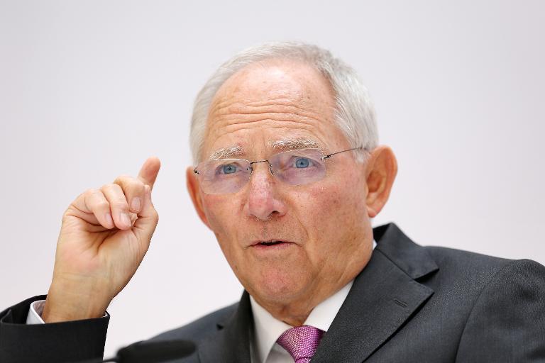 Schäuble verteidigt Entwurf zur Erbschaftsteuerreform (© 2015 AFP)