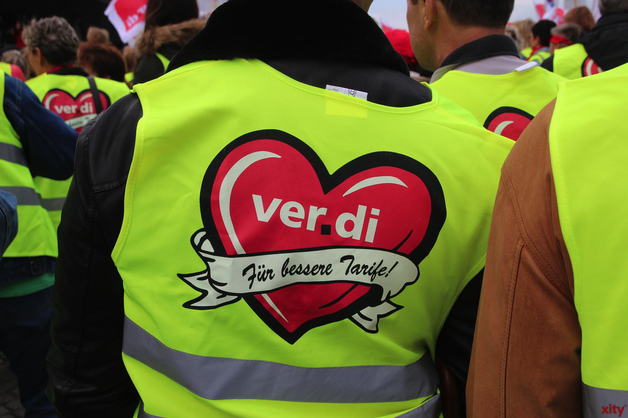 Mitarbeiter des Einzel-, Groß- und Außenhandels streiken (Foto: xity)