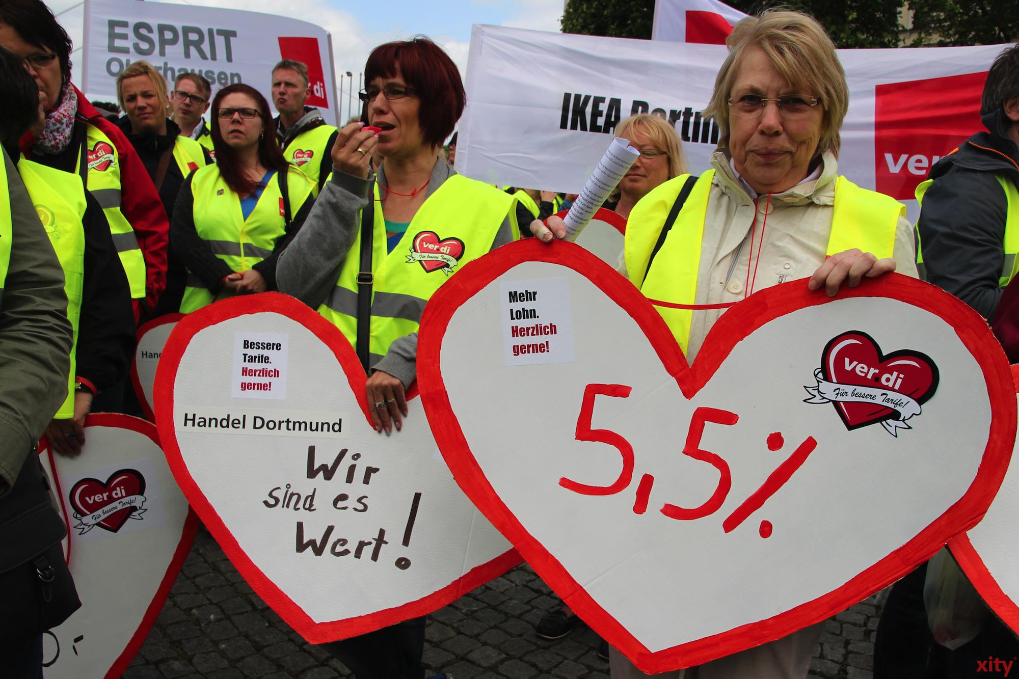 Sie forden 5,5% mehr Gehalt (Foto: xity)