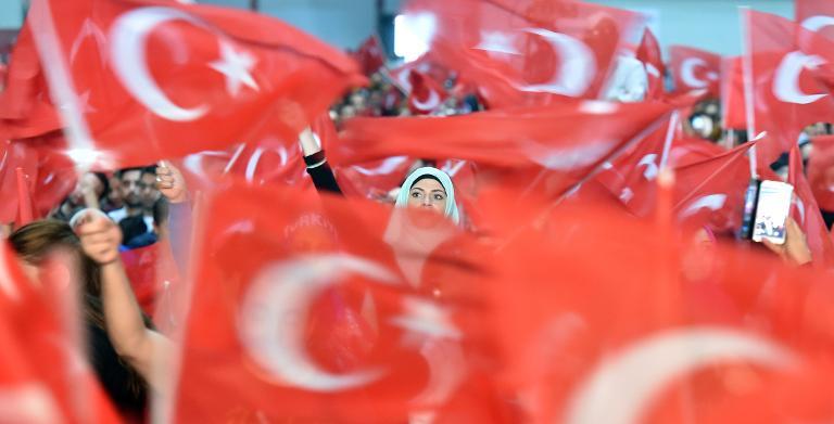AKP schneidet bei Türken in Deutschland besonders gut ab (© 2015 AFP)
