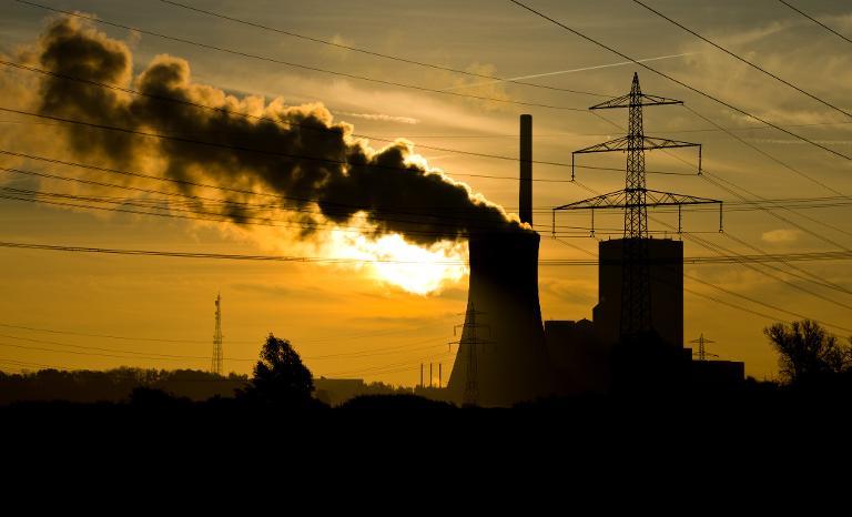 Grüne werfen Merkel widersprüchliche Klimapolitik vor (© 2015 AFP)